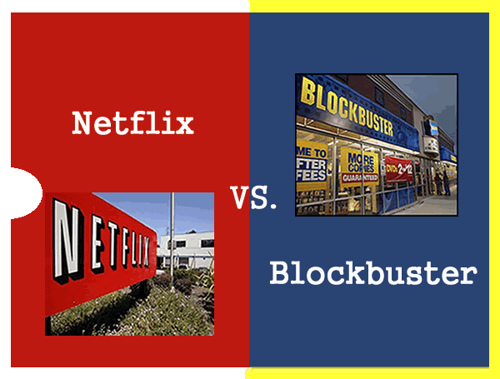 Blockbuster vs. Netflix