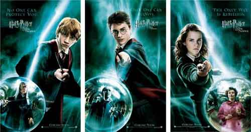 harry potter and the order of the phoenix posters: