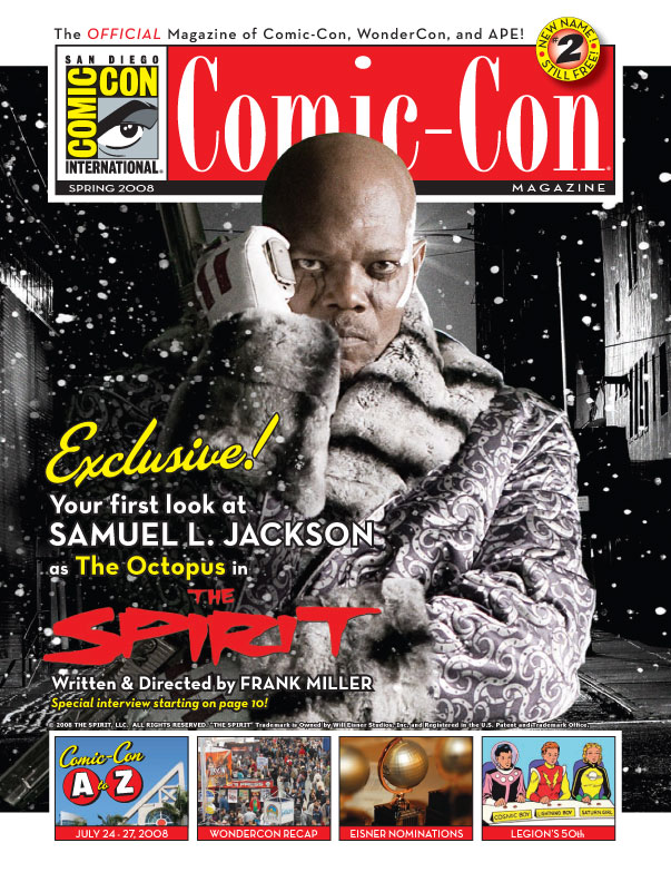 First pic of Samuel L. Jackson as Octopus